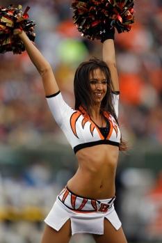 Former Bengal Cheerleader Sarah Jones