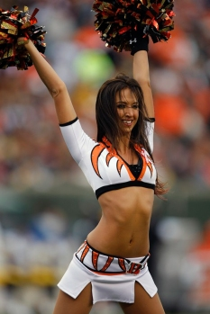 Former Bengal Cheerleader Sarah Jones