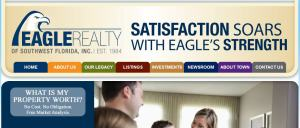 Eagle Realty web page