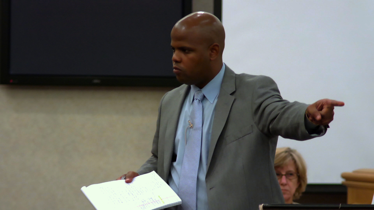 "Public Defender Travis Williams in ""Gideon's Army"""