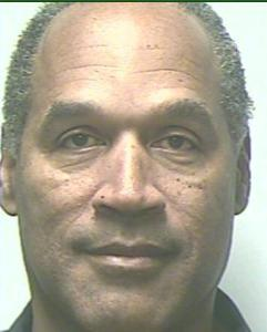 O.J. Simpson Prison Photo