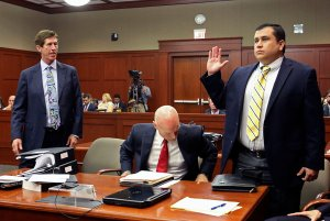 George Zimmerman in Court during his murder case
