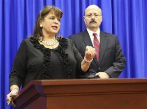 Angela Corey and assistant prosecutor Bernie de la Rionda