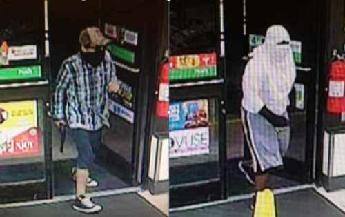 Surveillance Footage from Both 7-11 Robberies Last Week