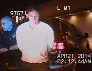 Dane Eagle's Arrest