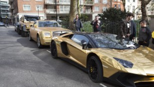 gold car fleet